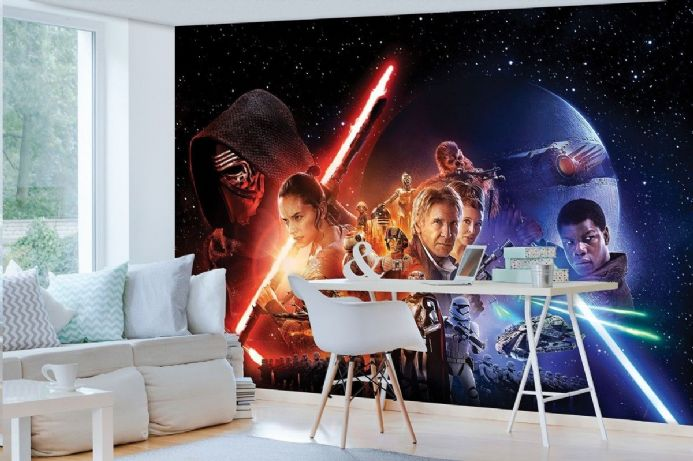 High quality wallpaper murals Star Wars cartoon| Homewallmurals Shop